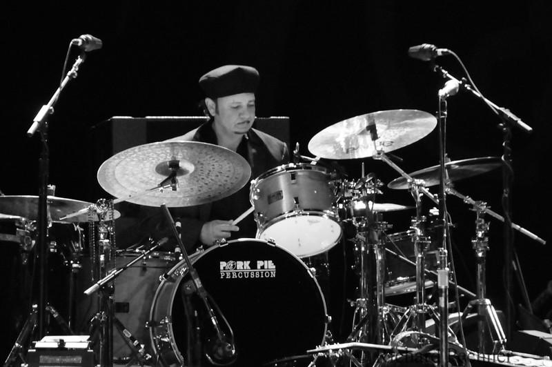 George Recile, drums