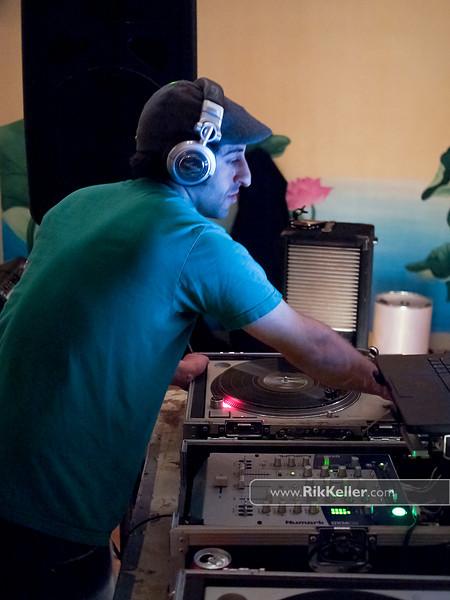 DJ Kadence at Kaya Yoga