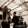 dancing to DJ Kadence at Kaya Yoga