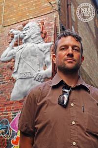 Mike Makatron, street artist