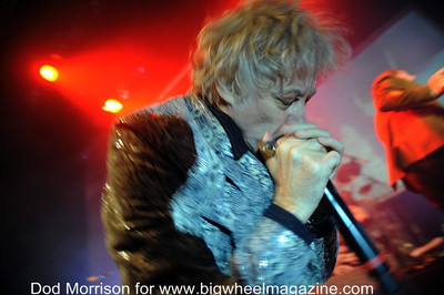Boomtown Rats - at Beach Ballroom - Aberdeen, UK - November 10, 2013