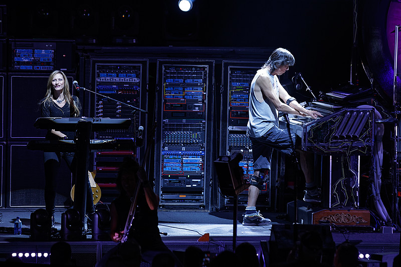 . Boston live at DTE on 7-9-2017. Photo credit: Ken Settle