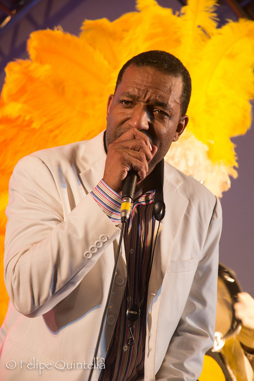 Donald Harrison and Zulu Connection<br /> Bourbon Street Fest 2012