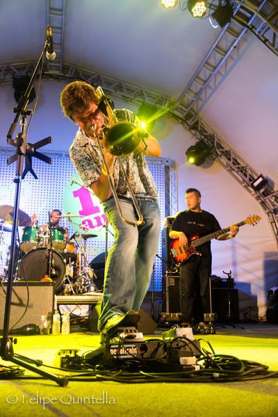 Bonerama Bourbon Street Fest 2012