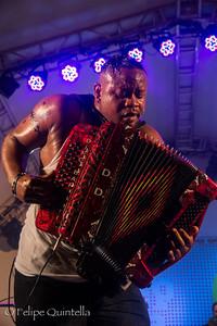 Dwayne Dopsie Bourbon Street Fest 2012