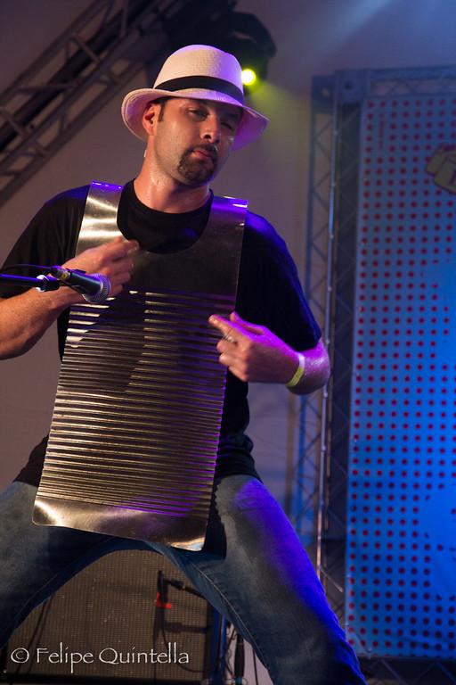Dwayne Dopsie<br /> Bourbon Street Fest 2012
