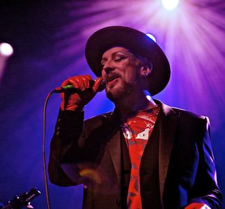 Boy George in Concert in NYC