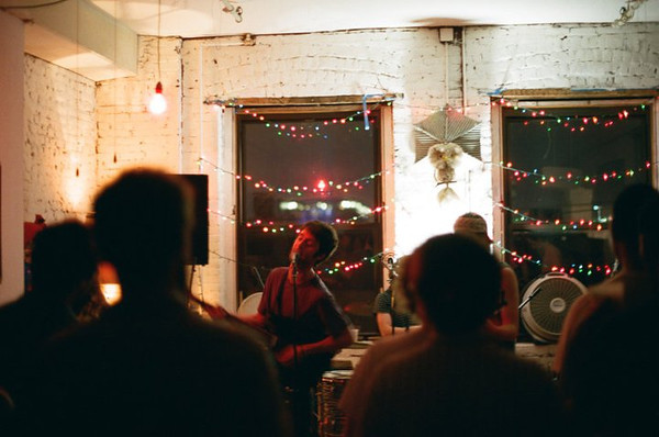 Greenpoint loft party, summer '11