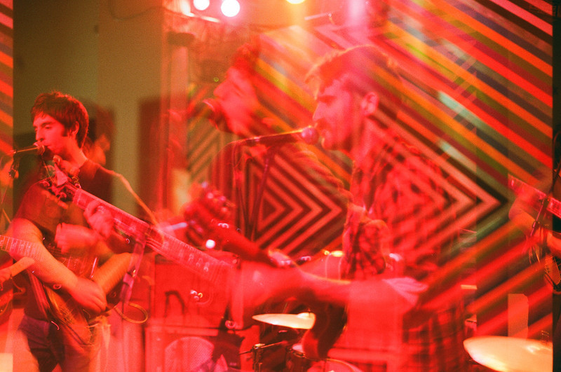 The Metro Gallery, Baltmore, December '11 - double exposure