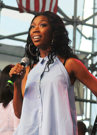 Brandy live at the Global Fusion Festival 2012