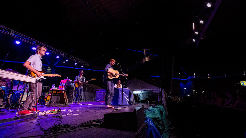 July 27, 2016 Brett Dennen at WFPK 91.9 Waterfront Wednesday in Louisville, Kentucky. ©Vasquez Photography