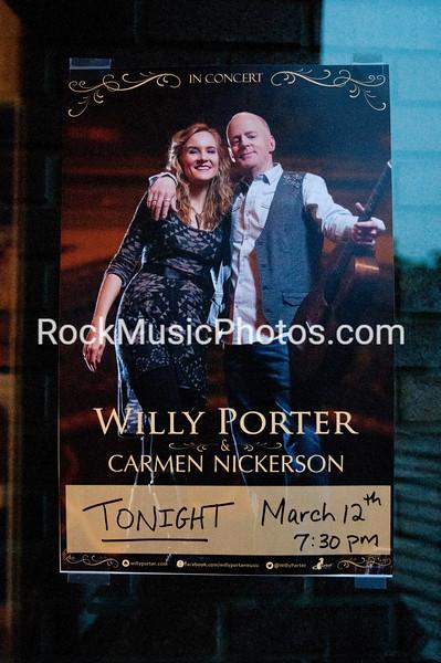 Willy Porter & Carmen Nickerson