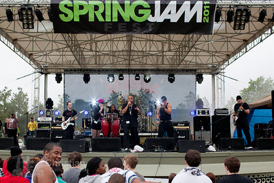 Spring Jam Festival on Saturday, May 14 2011, at Bull Run Park Centreville, Va.Includes performances by P.O.D. , Brian ÒHeadÓ Welch, EMERY, DaÕ Truth, Run Kid Run, War of Ages, Melodime, Rusty Belt City, A+ Dropouts, Corey Brooks Band, T.L., FM Williams, Bride Dressed in Black, Taylor Shea Band, Karen Spurlock, D3, TAG, Eddy Faulkner, Hollywood Holly and DJ Promote.
