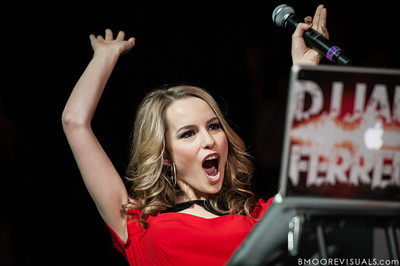 Bridgit Mendler makes an appearance on December 9, 2012 during the 93.3 FLZ Jingle Ball at Tampa Bay Times Forum in Tampa, Florida