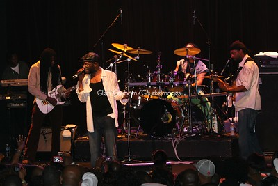 Beres Hammond performing in Charlotte, N.C.