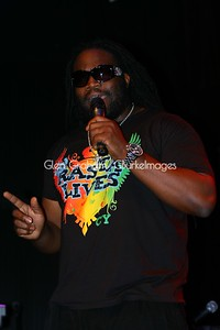 Gramps Morgan making a point during his performance in Charlotte NC