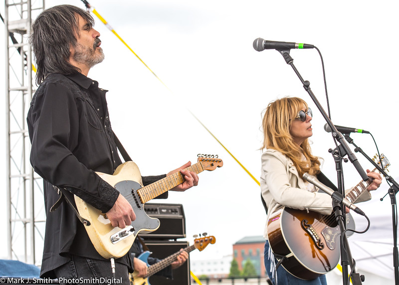 Larry Campbell and Theresa Williams