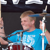 BE0530BSTOCK12<br /> Golden Ticket's drummer Brian Smith during Thursday's Broomstock 2010 at the Broomfield County Commons. <br /> May 27, 2010<br /> Staff photo/ David R. Jennings