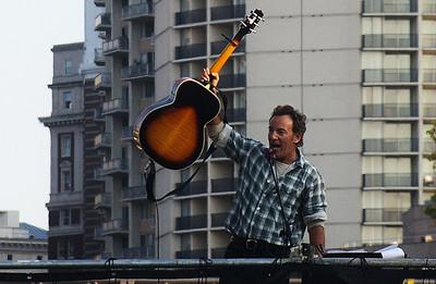 Bruce Springsteen  Philadelphia Obama Rally