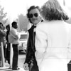 """Bruce Springsteen and then-wife actress Julianne Phillips arrive at the 1985 Grammy Awards ceremony at The Shrine Auditorium in February 1985. Bruce was nominated for songs from his hit album """"Born in The USA."""""""