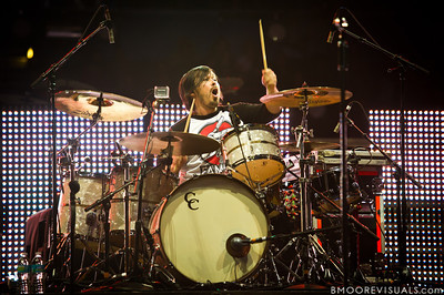 Michael Anderson of Building 429 performs on January 14, 2012 during Winter Jam at Tampa Bay Times Forum in Tampa, Florida