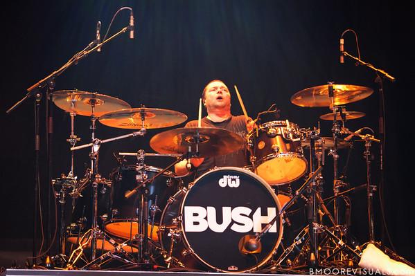 Robin Goodridge of Bush performs on December 3, 2011 during 97X Next Big Thing at 1-800-ASK-GARY Amphitheatre in Tampa, Florida