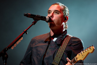 Gavin Rossdale of Bush performs on December 3, 2011 during 97X Next Big Thing at 1-800-ASK-GARY Amphitheatre in Tampa, Florida