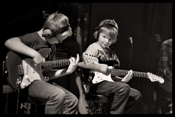 Luca and Freddie