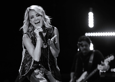 Carrie Underwood ~ black and white