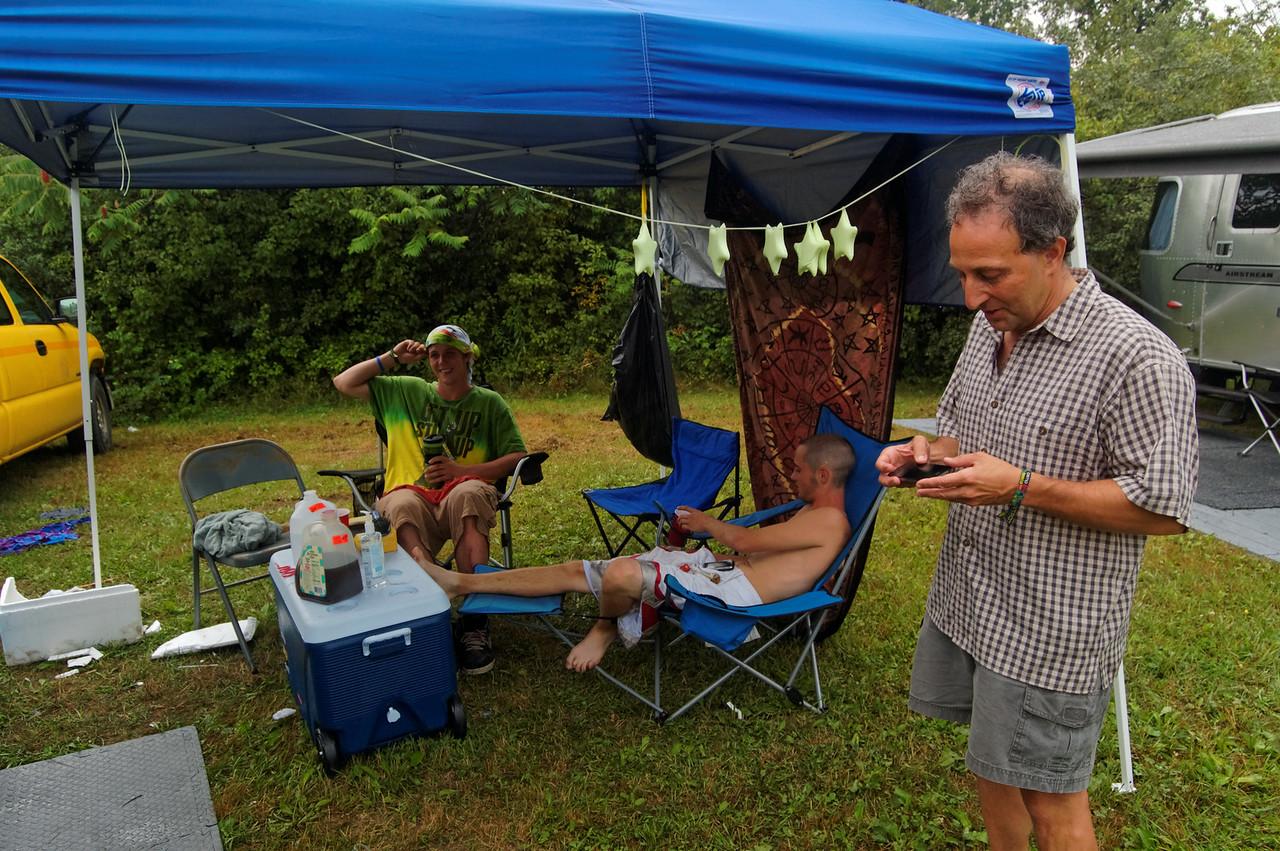 Shep at Camp