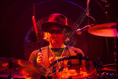 WEST HOLLYWOOD, CA - DECEMBER 20:  Drummer Matt Sorum performs at the Camp Freddy holiday residency at The Roxy Theatre on December 20, 2012 in West Hollywood, California.  (Photo by Chelsea Lauren/WireImage)