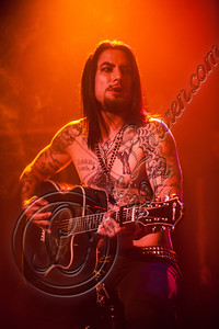 WEST HOLLYWOOD, CA - DECEMBER 20:  Guitarist Dave Navarro performs at the Camp Freddy holiday residency at The Roxy Theatre on December 20, 2012 in West Hollywood, California.  (Photo by Chelsea Lauren/WireImage)