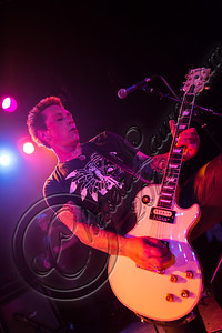 WEST HOLLYWOOD, CA - DECEMBER 20:  Guitarist Billy Morrison performs at the Camp Freddy holiday residency at The Roxy Theatre on December 20, 2012 in West Hollywood, California.  (Photo by Chelsea Lauren/WireImage)