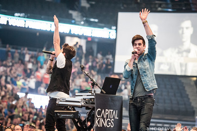 Capital Kings perform on January 12, 2013 during Winter Jam at Tampa Bay Times Forum in Tampa, Florida