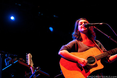 Julia Sinclair performs with Cara Salimando on March 26, 2010 at House of Blues in Orlando, Florida
