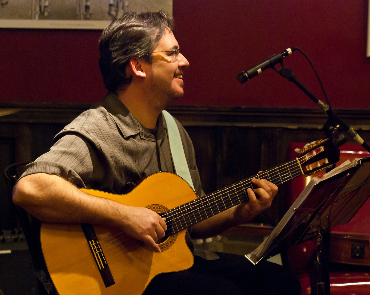 Michael McMorrow with Carambola at the Velo Rouge