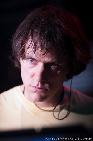 """Brad Weber of Caribou performs on October 17, 2010 in support of """"Swim"""" at Crowbar in Ybor City, Tampa, Florida"""