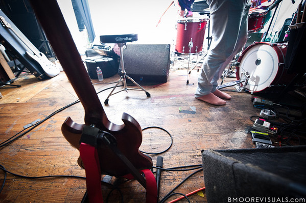 """Caribou perform on October 17, 2010 in support of """"Swim"""" at Crowbar in Ybor City, Tampa, Florida"""