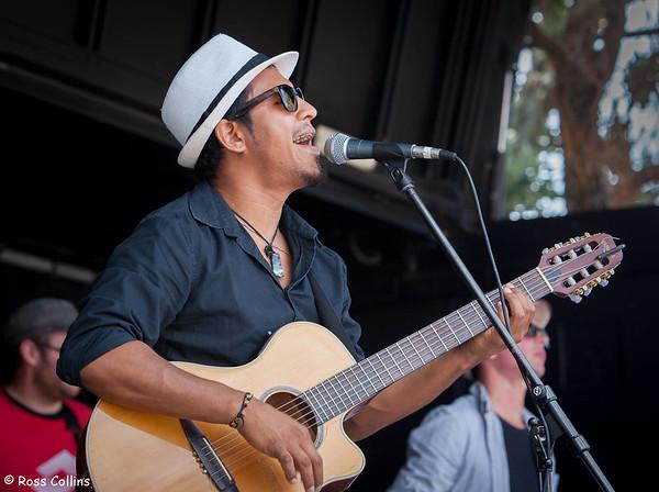 Carlos Navae at the Newtown Fair 2014