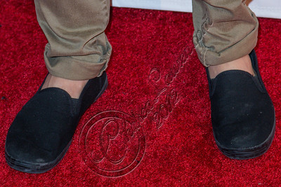 "WEST HOLLYWOOD, CA - SEPTEMBER 20:  Singer Cody Simpson (shoe detail) arrives at the album release party for Carly Rae Jepsen's debut record ""Kiss"" at Bootsy Bellows on September 20, 2012 in West Hollywood, California.  (Photo by Chelsea Lauren/WireImage)"