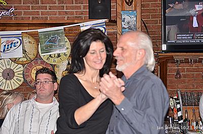 Lizzy McGee & Bill Miller - dancing.