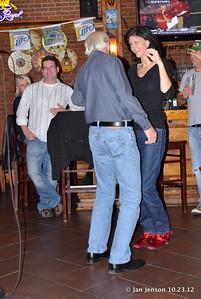 Bill Miller & Lizzy McGee dancing