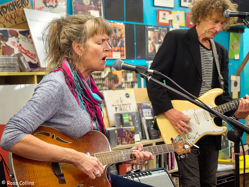 Caroline Easther at Slow Boat Records, 13 April 2019