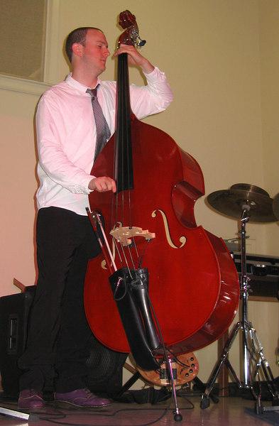 The Pulsar Triyo - Zach Kilgore on bass 2
