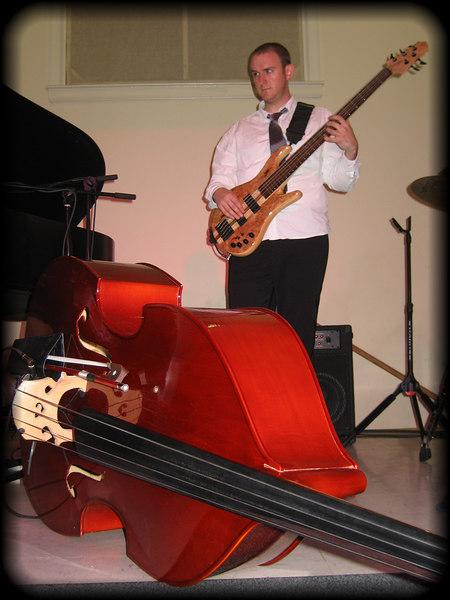The Pulsar Triyo - Adam Lord on bass [borderfade4]
