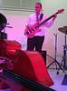 The Pulsar Triyo - Zach Kilgore on small bass, standup bass on ground