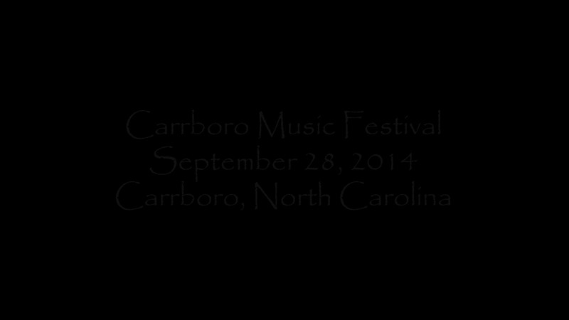 00aFavorite 20140928 Carrboro Music Fstvl (1327-2152) - Clips from ten bands Anuragini and Dilip saw {high quality rendering}