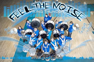 CHS Viking THunder Drumline 2013-2014
