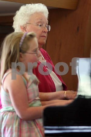 Cecile Thompson's Piano Recital 2009