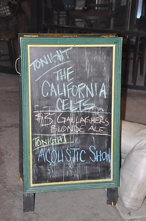 The California Celts at Gallaghers, Ocean Beach CA 4 March 2011